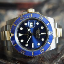 Rolex Submariner Date Gold/Steel 40mm Blue No numerals United Kingdom, Whitby- North Yorkshire