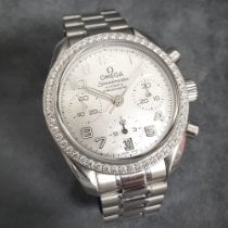 Omega 324.15.38.40.05.001 Steel 2014 Speedmaster Ladies Chronograph 38mm pre-owned