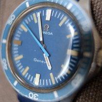 Omega Seamaster Diver 300 M Steel 37mm Blue No numerals