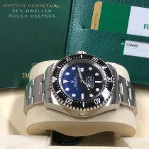 Rolex Sea-Dweller Deepsea Otel 44mm Fara cifre