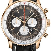 Breitling Rose gold Automatic Grey 46mm new Navitimer 01 (46 MM)