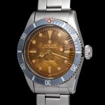 Rolex 6538 Staal 1956 Submariner (No Date) 38mm tweedehands