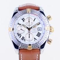 Breitling Chronomat Evolution Gold/Stahl 44mm Weiß Arabisch Deutschland, Langenfeld