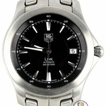 TAG Heuer Link Steel 40mm Black United States of America, New York, Smithtown
