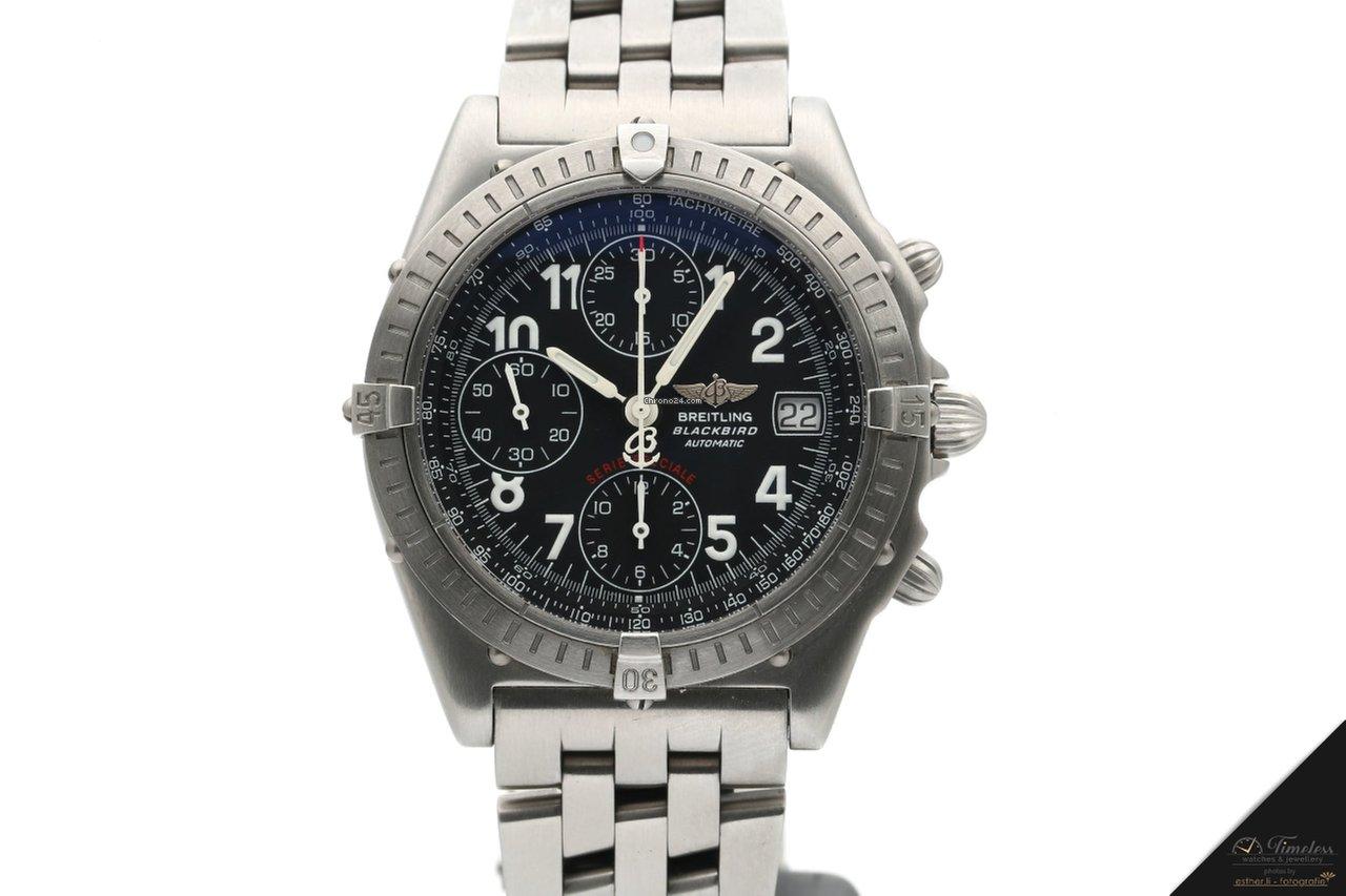 the latest b9574 13c6c Breitling Chronomat Blackbird A13350