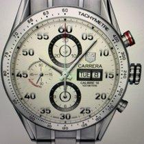 TAG Heuer Carrera Calibre 16 Steel 44mm White Arabic numerals