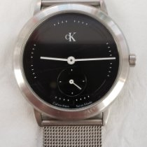 ck Calvin Klein pre-owned Quartz 37mm Black Mineral Glass 30 ATM