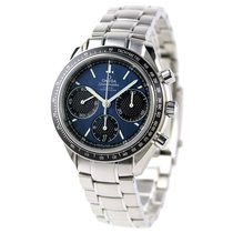 Omega Aluminum Automatic Blue 46mm new Speedmaster Racing