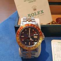 Rolex GMT-Master Gold/Steel 40mm Brown No numerals Thailand, Bangkok