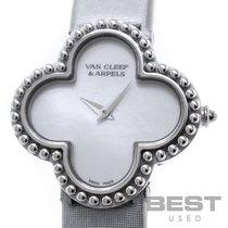 Van Cleef & Arpels Alhambra White gold 26mm White