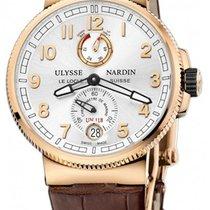 Ulysse Nardin Marine Chronometer Manufacture Pозовое золото Cеребро