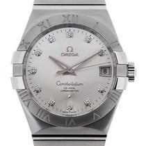 Omega Constellation Men Ατσάλι 38mm Ασημί