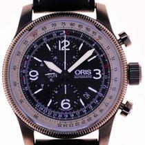 Oris Mans Automatic Wristwatch Chronograph Big Crown X1...