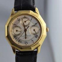 Baume & Mercier Riviera Complications Triple Date Gold 18