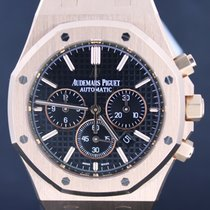 Audemars Piguet Royal Oak Chronograph Rose Gold Black Dial...