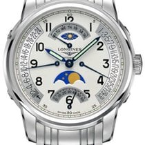 Longines Saint-Imier Retrograde GMT Moonphase Automatic Mens...
