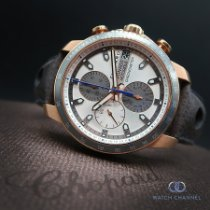 Chopard pre-owned Automatic 44.5mm Grey Sapphire crystal