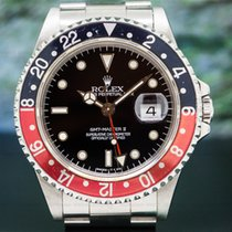 Rolex 16710T GMT Master II SS Red / Black Coke (28302)