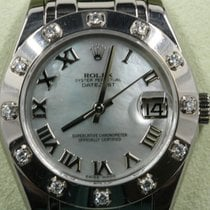 Rolex Lady-Datejust Pearlmaster White gold 34mm Mother of pearl United States of America, Florida, Miami