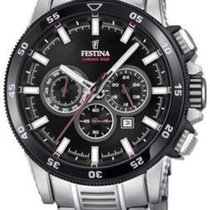 Festina Steel 44mm Quartz F20352/6 new