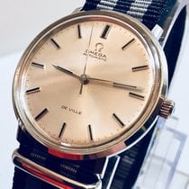 Omega De Ville vintage Mens watch cal 552  Automatic Nato + Box
