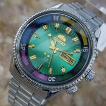 Orient Swimmer 21 Jewel Stainless St Automatic Made in Japan...