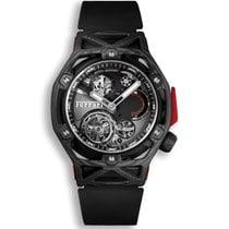 Hublot Techframe Ferrari Tourbillon Chronograph Carbon 45mm