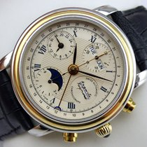 Auguste Reymond Cotton Club Triple Date Moon Phase Automatic...