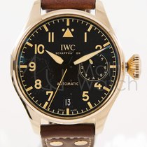 IWC Big Pilot Bronze 46mm Black