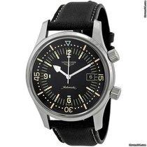 Longines Men`s L3.674.4.50.0  Sports Legends Black Dial Watch