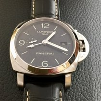 Panerai Luminor 1950 3 Days GMT Automatic usado 44mm Aço