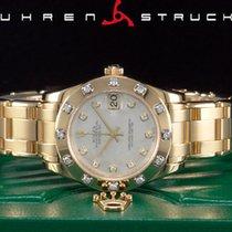 Rolex Pearlmaster Geelgoud 34mm Geen cijfers
