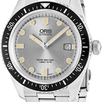 Oris Divers Sixty Five Steel Silver United States of America, New York, Brooklyn