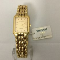 Juvenia Yellow gold 17mm Quartz 11525 new