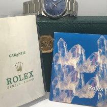 Rolex Datejust Oysterquartz Staal 36mm Blauw Geen cijfers Nederland, Purmerend