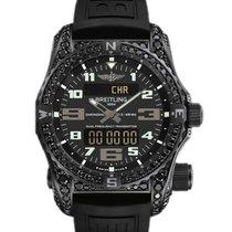 Breitling Emergency new 2019 Quartz Chronograph Watch with original box and original papers V76325AW/BC46/156S/V20DSA.2