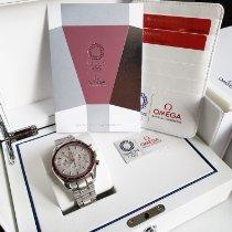 Omega Speedmaster Professional Moonwatch Сталь 42mm Белый Без цифр