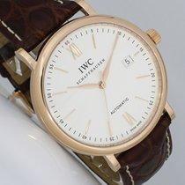 IWC Portofino Automatic Rotgold 40mm Silber Römisch Deutschland, Dresden