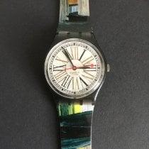 Swatch Plástico 34mm Quartzo GM113 usado