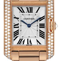 Cartier Tank Anglaise Rose gold 35mm Silver United States of America, Florida, Sunny Isles Beach