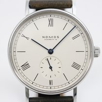 NOMOS Steel 35mm Manual winding 31A0581 pre-owned