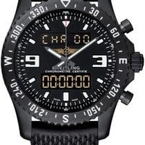 Breitling Chronospace Military Новые Сталь 46mm Кварцевые