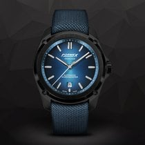 Formex Carbon Automatic Blue No numerals 43mm new