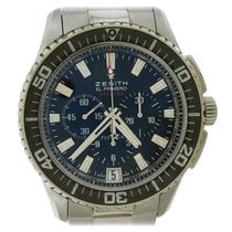 Zenith El Primero Stratos Flyback Steel Black United States of America, New York, New York