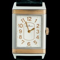 Jaeger-LeCoultre Grande Reverso Lady Ultra Thin Goud/Staal 24mm Wit Arabisch