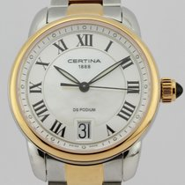 Certina DS Podium Lady Acier 33mm Blanc Arabes