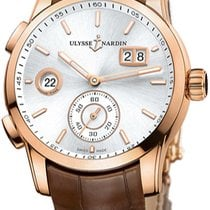 Ulysse Nardin 3346-126.91 Rose gold Dual Time new United States of America, New York, Brooklyn