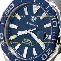 TAG Heuer Aquaracer 300M WAY201B.BA0927 TAG HEUER AQUARACER Ghiera Ceramica BLU 43mm 2020 new
