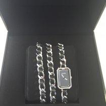 Chanel Première Steel 23,6mm Black No numerals