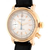 Graham Collector 1695 Limited Edition Red Gold Leather 42mm